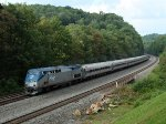 Amtrak 43 at Mile 255 Pittsburgh Line